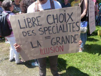 Manifestation des enseignants, c Pauline Defélix