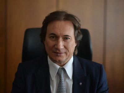 Pierre Streiff, président de la Fédération du BTP Isère. © Sidonie Hadoux