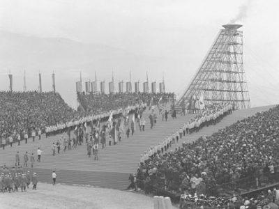 Cérémonie d'ouverture des Jeux Olympiques de 1968. © AMMG