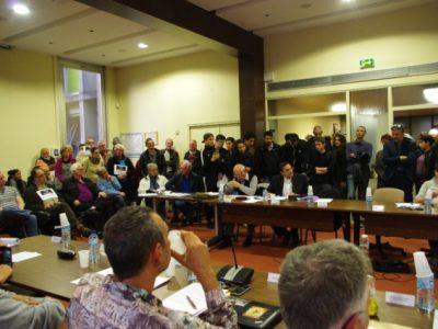 Ce 27 mars, un rassemblement avait lieu à Fontaine pour interpeller la municipalité communiste suite aux propos anti-roms tenus par un élu FN en conseil.