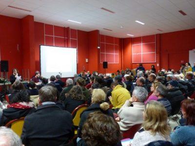 Réunion publique Quartier Saint Bruno salle rouge 19 février 2020 UNE