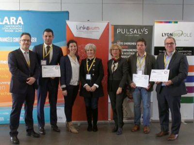 Trois start-up ont été primées le 7 décembre pour des projets innovants lors du R2B Oncology Meeting organisé par le cancéropôle Lyon Auvergne Rhône-Alpes.