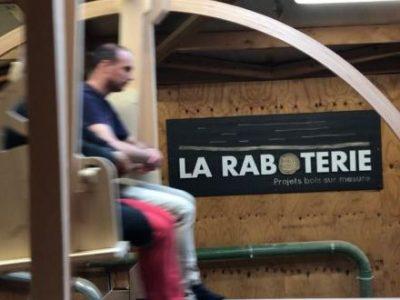 La Raboterie d'Eybens, entreprise qui réalise des constructions en bois sur mesure et se met à la charpente, a fêté sa mue vendredi 10 et samedi 11 mai 2019