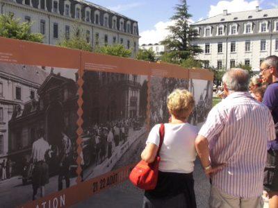Libération de Grenoble. © Joël Kermabon - placegrenet.fr