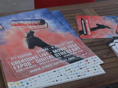 flyers du street art fest 2021