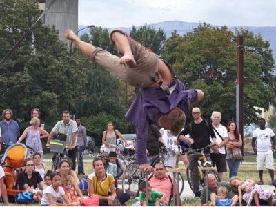 Le festival d'arts de rue Merci Bonsoir de retour au parc Bachelard de Grenoble du 14 au 18 septembre