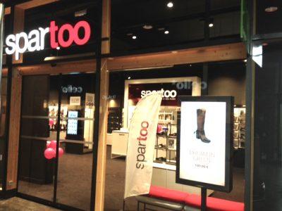 Le magasin Spartoo de la Caserne de Bonne a ouvert le 16 octobre. © Spartoo