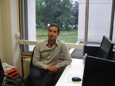 Simon Labouret politologue. © Etienne Chaudagne - placegrenet.fr