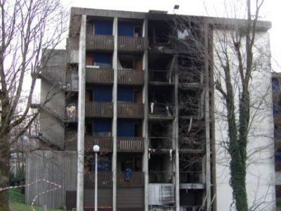 Le squat du VO, occupé par 90 réfugiés africains, a été dévasté par un incendie le 15 mars.