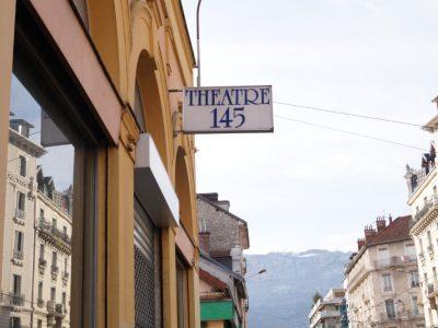 Le Théâtre 145 sur le Cours Berriat, à Grenoble. © Léa Raymond placegrenet.fr
