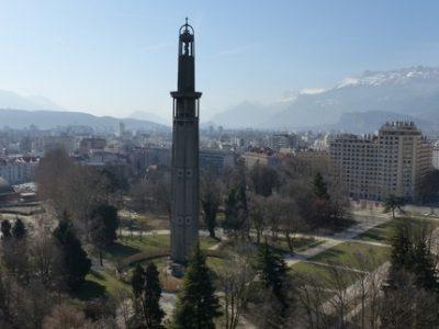 Des travaux en urgence dès le mercredi 3 mars pour consolider le sommet de la Tour Perret