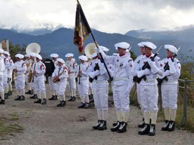 Les troupes de montagne en position