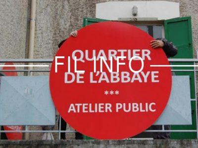 Des citoyens ont lancé une pétition pour dire non à la démolition de la Cité de l'Abbaye. La municipalité répond en organisant des ateliers publics.