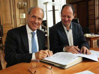 Prévenir et lutter contre le surendettement, tel est l'objectif de la convention de partenariat signée entre la Banque de France et le CCAS de Grenoble.