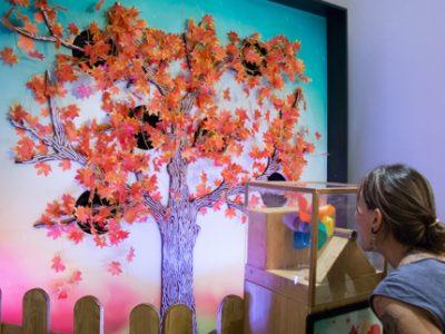 Inauguration de l'exposition interactive 4 saisons, de l'espace BioLab et du toit végétalisé par l'association Cultivons nos toits au sein du CCSTI la Casemate. © Yuliya Ruzhechka - Place Gre'net