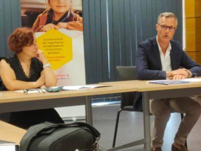 Bertrand Converso et Patricia Dudonné SDH