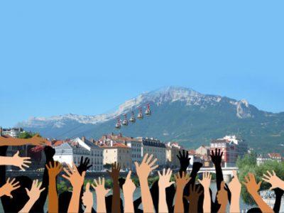 Démocratie participative à Grenoble. DR