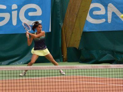 Emmanuelle Salas, joueuse du Grenoble Tennis, bénéficie d'une invitation dans le tableau principal de l'Engie Open de l'Isère. © Grenoble Tennis