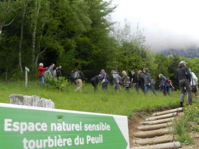 Inauguration de la ferme du Peuil à Claix. Espace naturel sensible de la tourbière du Peuil. © Edouard Merlo - Placegrenenet.fr