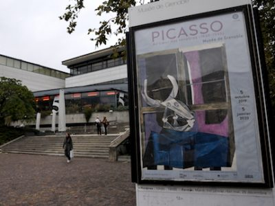 UNE Exposition Picasso Muriel Beaudoing