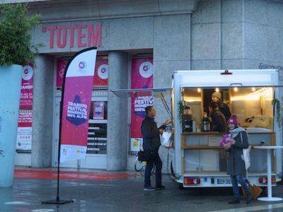 Le Totem qui accueille le Hub Transfo, QG du premier festival dédié au numérique à Grenoble. © Léa Raymond - Placegrenet.fr