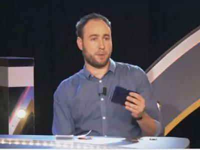 UNE Lucas Duchaine, fondateur de Sylha, à l'émission