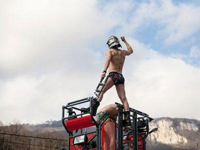 strip-tease des pompiers Isère Sdis 38