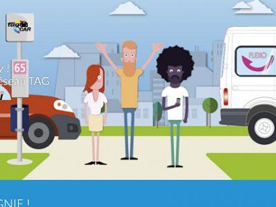 UNE Tag&Car, nouveau service de covoiturage de proximité expérimenté sur le territoire du sud grenoblois, à partir de septembre 2017