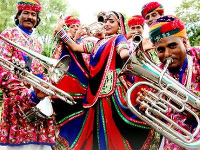 Le groupe Jaipur Maharaja Brass Band sera à Fort Barraux. DR