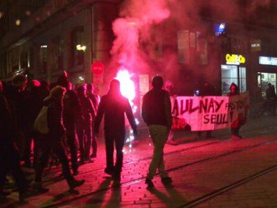Environ 300 personnes s'étaient réunies le 10 février à Grenoble, pour réclamer