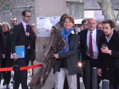 Arrivée de Ségolène Royal à Grenoble-Alpes Métropole. © Joël Kermabon - Place Gre'net