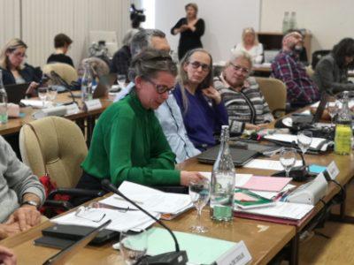 Mondane Jactat, conseillère municipale déléguée à la santé et porteuse de la délibération. © Joël Kermabon - Place Gre'net