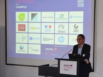 UNE Campus Digital GrenobleDR en présence de Ralph Gathmann.