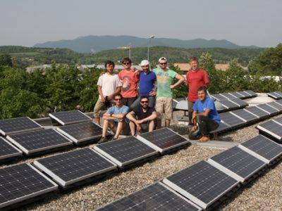 centrale photovoltaïque © Enercoop