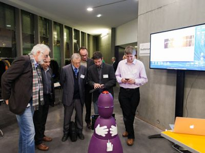 Inauguration de la chaire Robo'ethics robotique de la Fondation partenariale Grenoble INP. DR
