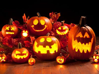 Halloween pumpskins party in Grenoble