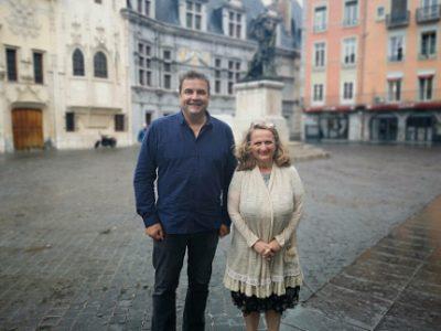 Philippe de Longevialle et Marie-Claire Népi. © Joël Kermabon - Place Gre'net