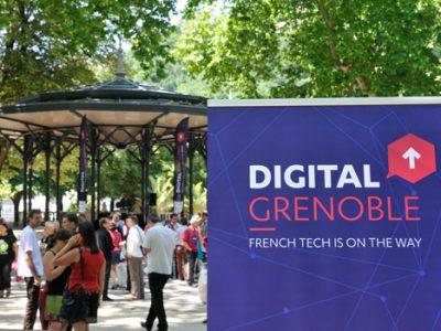 Digital Grenoble French tech is on the way Barbecue numérique au Jardin de ville de Grenoble le 20 juin 2014 startup. © Paul Turenne - placegrenet.fr