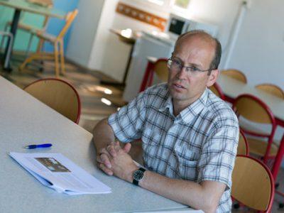 Fabien Malbet, adjoint à l'école et au patrimoine scolaire à la ville de Grenoble. © Ville de Grenoble