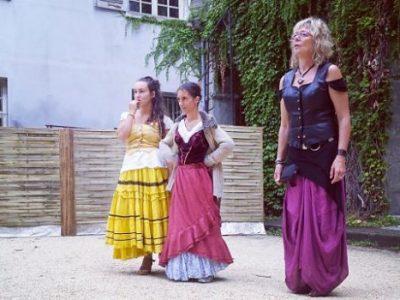 Festival de la cour du vieux temple à Grenoble. DR