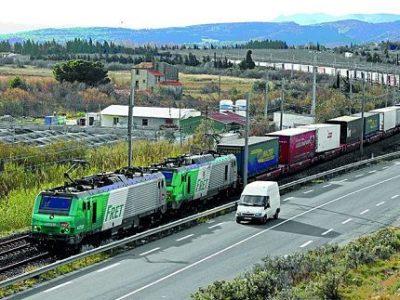 UNE Transports de marchandises par le fret Credit MEEM