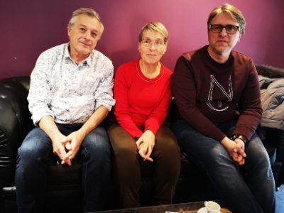 Paul Bron, Florence Hanff et David Ryboloviecz étaient présents lors de l'annonce de Go citoyenneté, . © Joël Kermabon - Place Gre'net