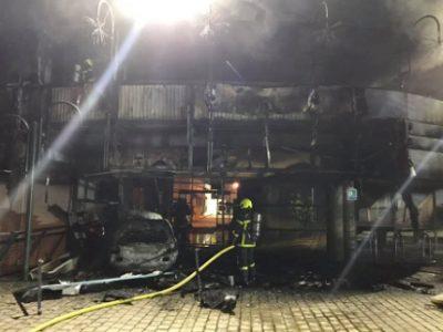 Les pompiers ont jugulé l'incendie. © Compte Facebook de Patrick Nicole-Williams, le maire de Villefontaine.