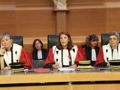 Pascale Vernay, première présidente de la cour d'appel de Grenoble. © Joël Kermabon - Place GRe'net