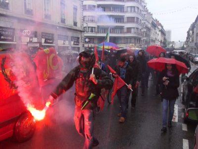 Manifestation du 1er mai 2015 © Joel Kermabon - placegrenet.fr
