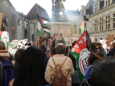 Marche de solidarité et commémoration de la Nakba - vendredi 18 mai