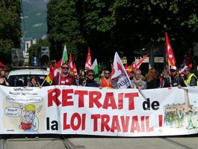 Manifestation du 19mai 2016. © Alexandra Moullec