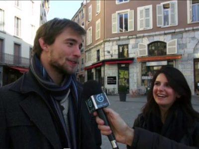 Micro-trottoirs de citoyens isérois à l'occasion des élections départementales