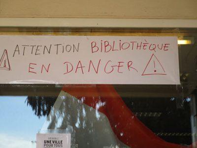 Le collectif Touchez pas à nos bibliothèques ne change pas son fusil d'épaule, malgré l'annonce du maintien de la bibliothèque Alliance par Eric Piolle.