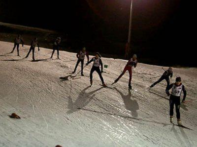 Nocturne ski nordique à Villard-de-Lans